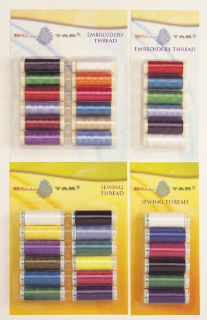 100% Polyester Embroidery Thread (100% полиэстер, вышивка Thread)