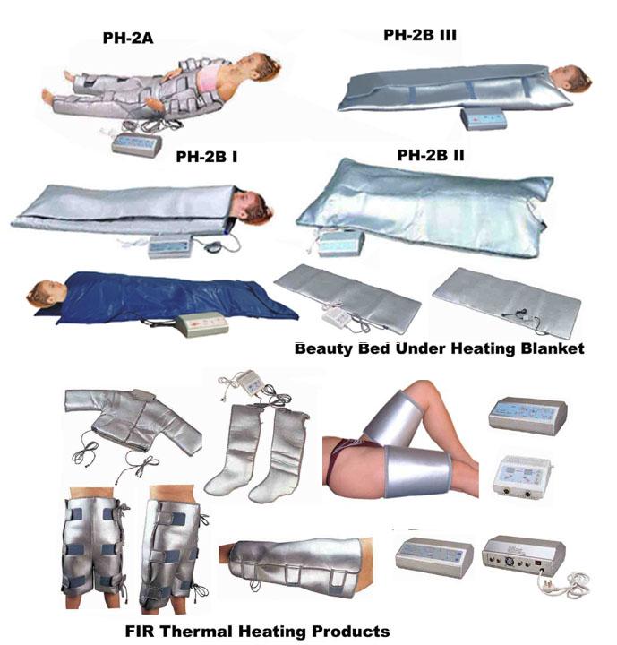 Far Infrared Fir Thermal Heating Sauna Blanket