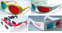 Paper 3D Glasses, Decoder, Firework Glasses, Polarized 3D Glasses ()
