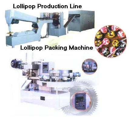 Lollipop Production Line (Lollipop производственная линия)