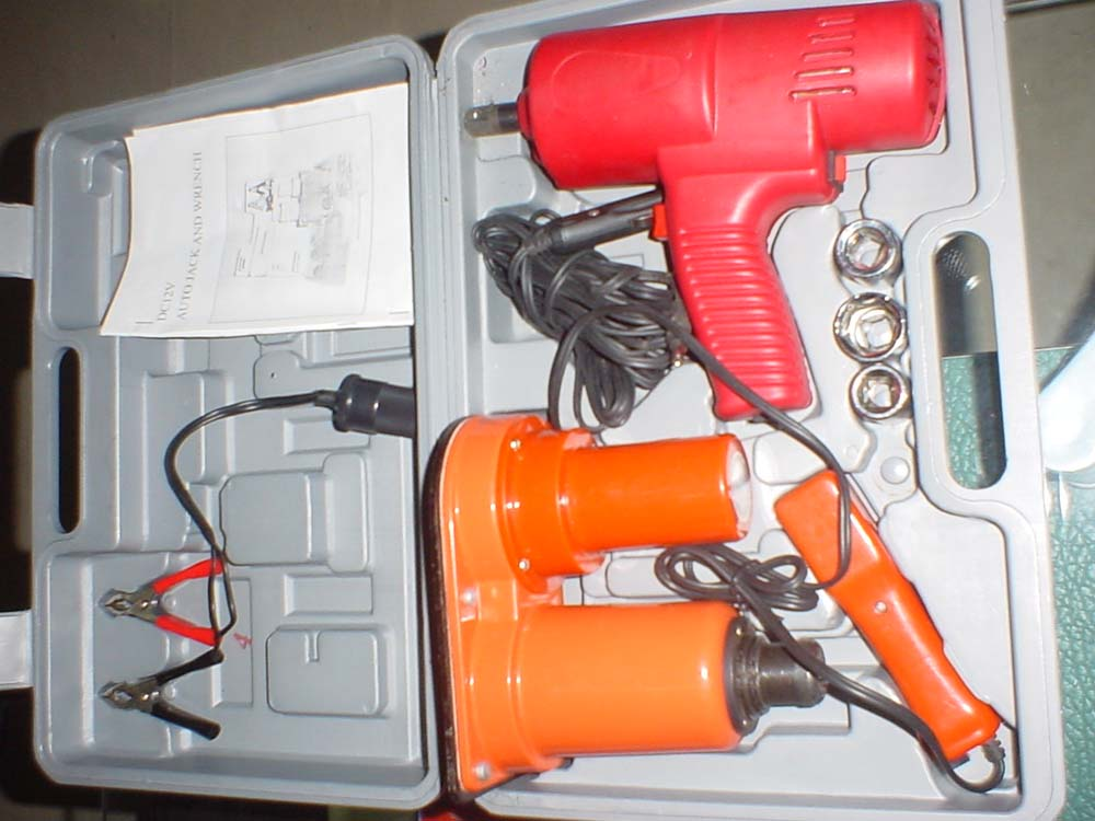 Electric Jack & Impact Wrench (Electric Jack & Impact Wrench)