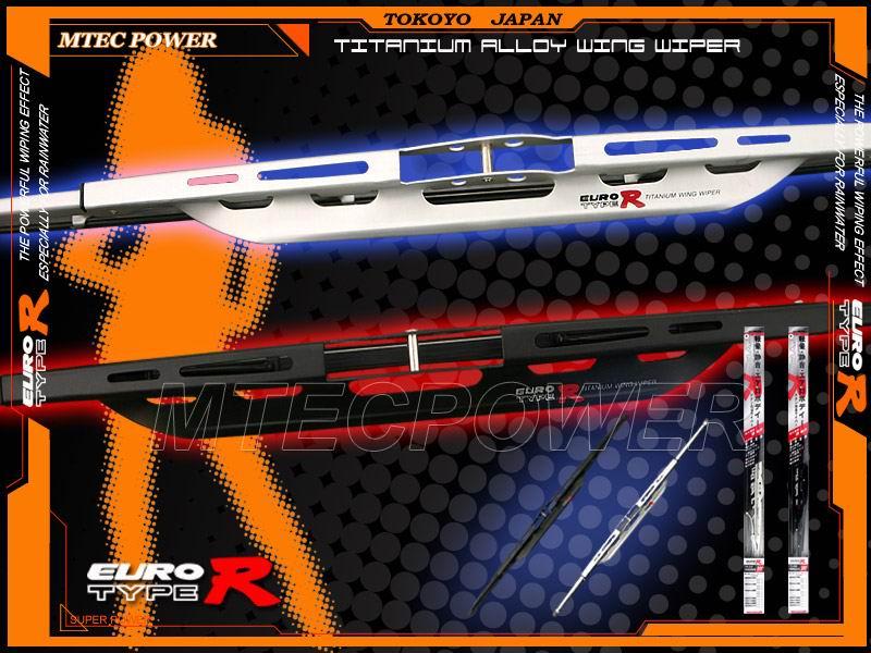 Euro Type-R Aluminum Wiper Blades (Евро Type-R Алюминиевые Щетки стеклоочистителя)