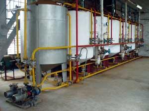 Oil Extraction And Refining Line (Нефтедобыча и нефтепереработка линия)
