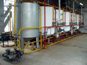 Oil Extraction And Refining Line (Extraction de pétrole et raffinage Line)
