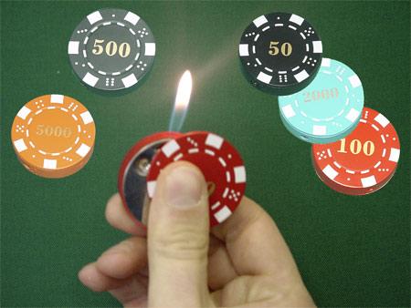 Poker Chip Lighter (Poker Chip Зажигалка)