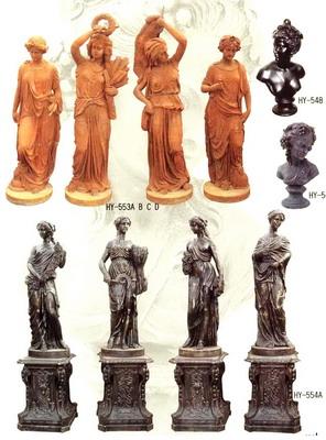 Cast Iron Statue & Statuary (Чугунные Статуя & статуэтки)