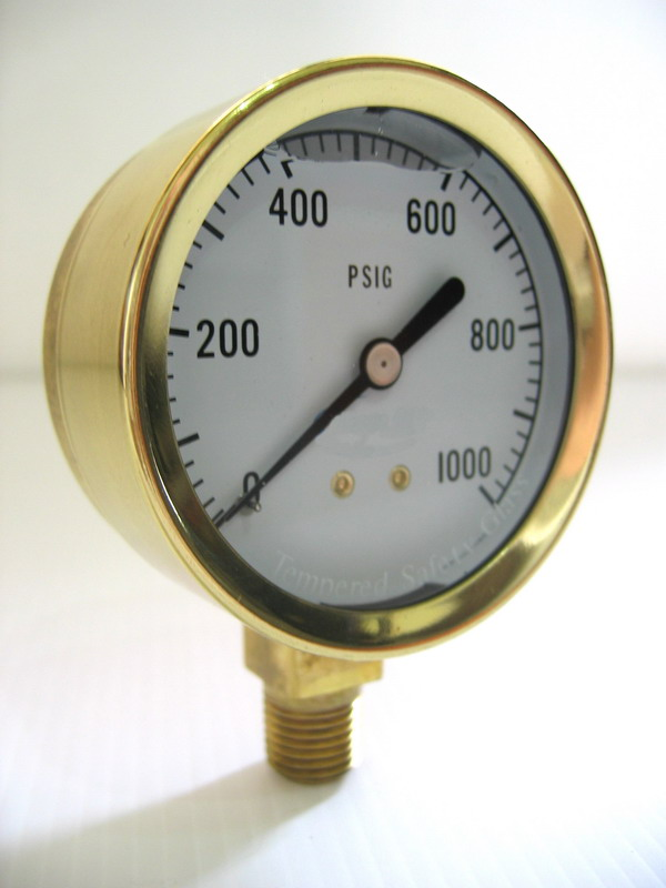 Cast Brass Pressure Gauges (Cast Brass манометры)