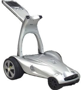 Electric Golf Trolley (Электрическая тележка гольфа)