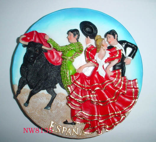 Resin Magnets, Fridge Magnets, Souvenirs