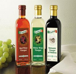 Balsamic Vinegar Of Modena-White And Red Vinegar (Бальзамический уксус из Модены-белый и красный уксус)
