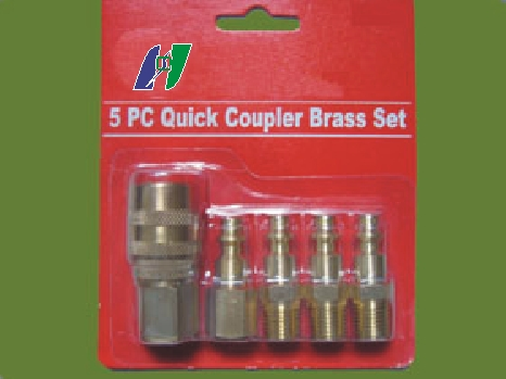 5-pc Air Quick Coupler Set (5-pc Air Quick Coupler Set)