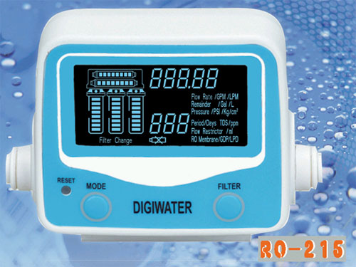 Digital Flow Meter RO-215 (Digital Flow Meter RO 15)