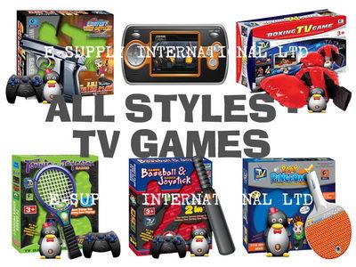Video TV Game, Tennis, Ping Pong, Boxing, Baseball, Joystick (Video TV Game, теннис, настольный теннис, бокс, бейсбол, Джойстик)