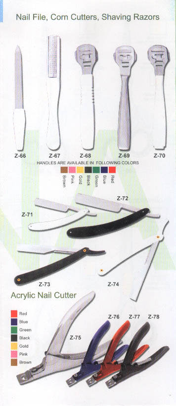 Cuticle Pusher, Cuticle Trimmer, Comedo Extraktoren (Cuticle Pusher, Cuticle Trimmer, Comedo Extraktoren)