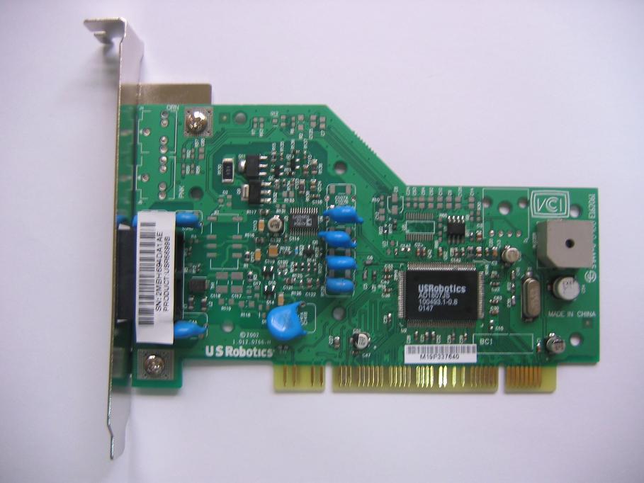 USR5699b 56k PCI Fax Modem (USR5699b 56K PCI факс-модем)