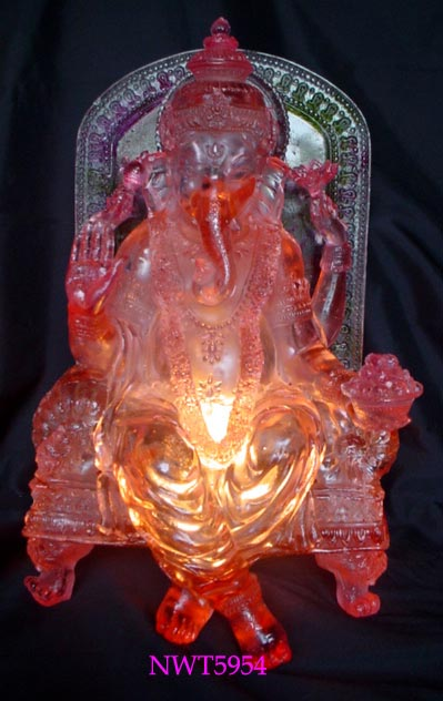 Coloured Glaze With Hindu Gods (Цветной глазурью с индуистских богов)