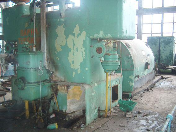 Steam Turbine Generator 12 Mw Used (Паровая турбина генератора 12 МВт б /)