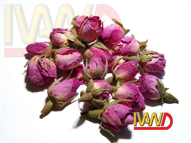 Dried Pink Rose Buds And Petals (Сушеные Розовые розы бутоны и лепестки)