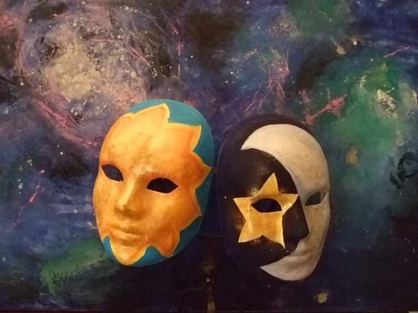 Italian Carnival Masks (Итальянский карнавальных масок)