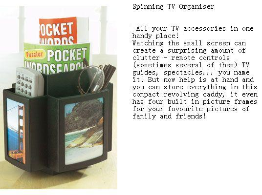 Spinning TV Organizer ( Spinning TV Organizer)