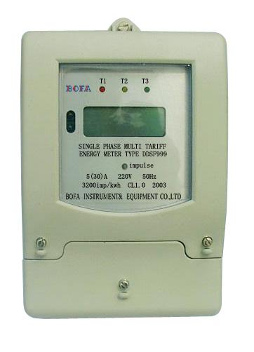 Single Phase Multi-Tariff Energy Meter (Однофазный многотарифный счетчик электроэнергии)