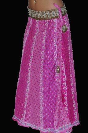 New Silk Alka Vora Bandhej Boho Gypsy Skirt (Новый Шелковый Алка Vora Bandhej Boho Цыганская юбка)