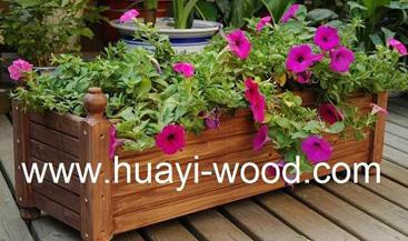 Wooden Planter Box, Flower Boxes (Деревянный Planter сейф, цветочные ящики)