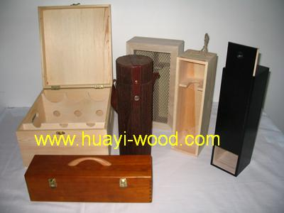 Wood Wine Box, Wooden Gift Boxes