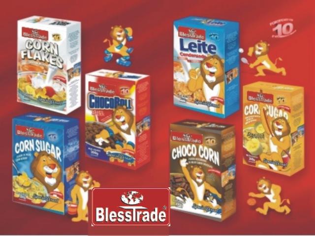 Cereal - Corn Flakes (Зерновые - кукурузные хлопья)