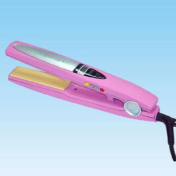 Digital Tourmaline Ceramic LCD Hair Straightener E-069b ( Digital Tourmaline Ceramic LCD Hair Straightener E-069b)