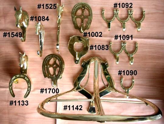 Solid Brass Stable / Tack Room Necessities (Твердые латунные Стабильный / T k номеров Необходимости)