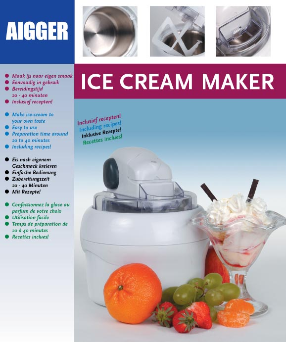 Aigger ice cream maker