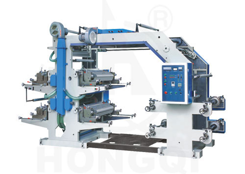 Four-color Flex Graphic Printing Machine