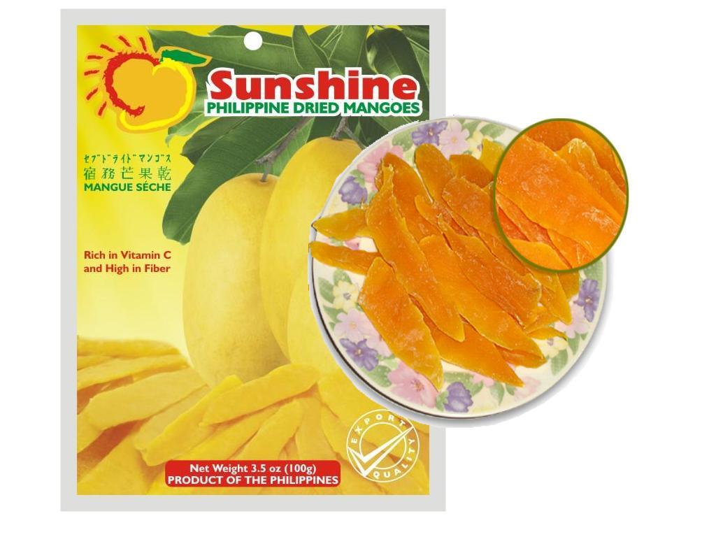 Sunshine Dried Mango Slice