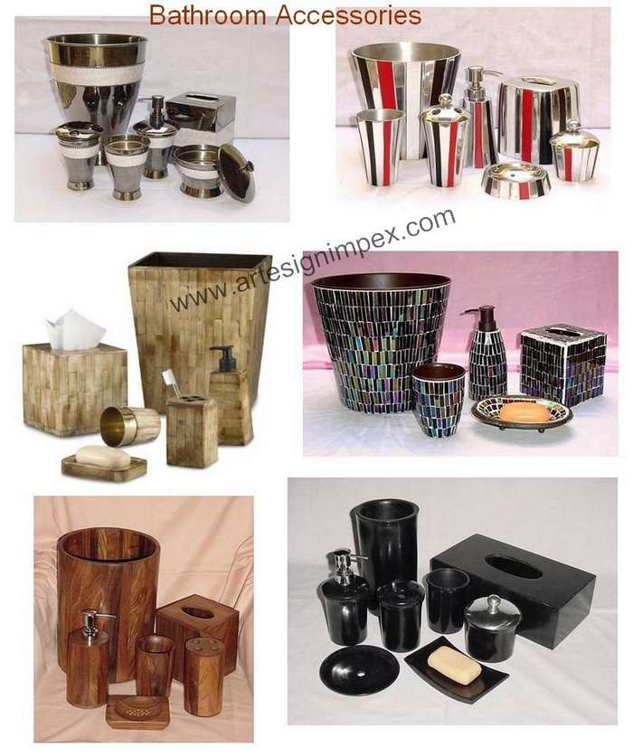 Holz Bad-Accessoires (Wooden Bathroom Accessories) | {Bad accessoires holz 93}
