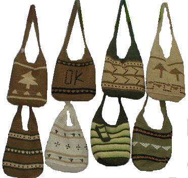 Crochet Handbag And Backpack (Вязание крючком сумки и рюкзака)
