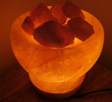 Bowl Salt Lamp (Чаша соль лампа)