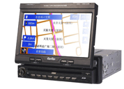One Din 7 Inch Touch Screen Monitor With Built-In GPS With Car DVD / TV (Один DIN 7-дюймовый сенсорный монитор со встроенным GPS автомобиле DVD / TV)