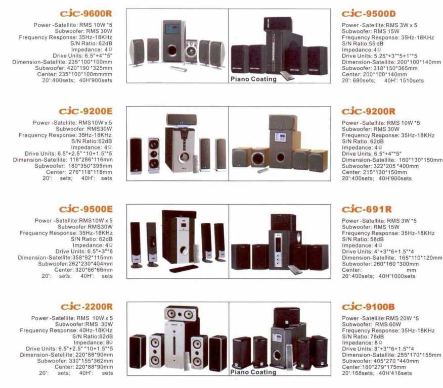 5.1 Home Theatre System (5.1 Home Theatre System)
