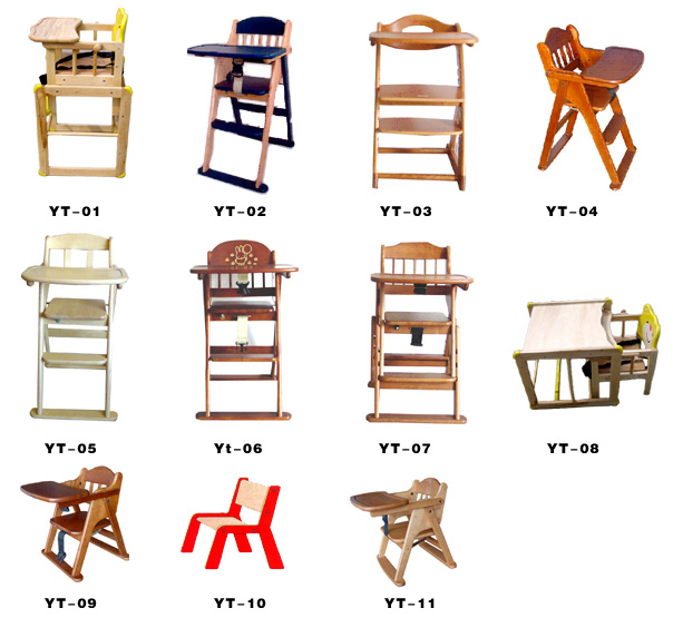 Baby High Chairs, Baby Wooden Bed, Baby Furniture