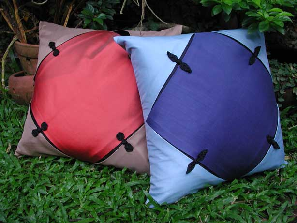 Silk Cushions Cover (Шелковыми подушками Обложка)