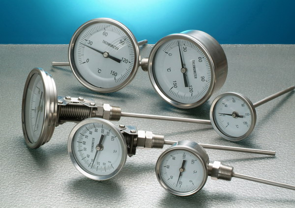 Industry Bimetal Thermometers (Промышленность биметаллические термометры)