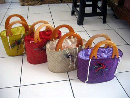 Pandanus Bags (Pandanus сумки)