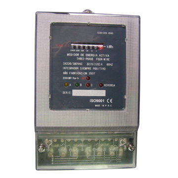 Meter With Three Phase Three Wire-Dss217 (Метра с трехфазным трехжильным-Dss217)
