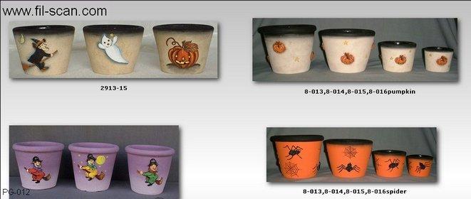 Halloween Pots, Halloween Planters, Halloween Decor (Горшки Хэллоуин, Хэллоуин Посадочные, Хэллоуин Декор)