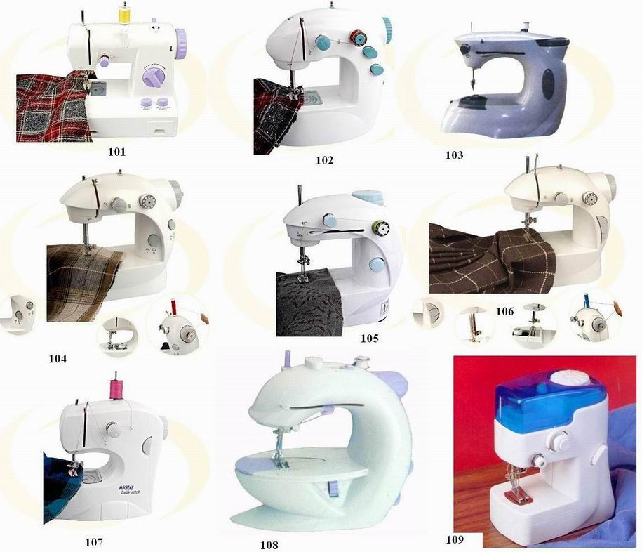 Sewing Machines, Mini Sewing Machinery
