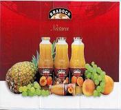 100% Fruit Juices And Nectars Of A Variety Of Flavours - Bradock (100% Фруктовые соки и нектары Разнообразие вкусов - Bradock)