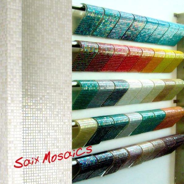 Iridescent Glass Mosaic (Радужная Стеклянная мозаика)