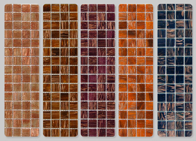 Aventurine Glass Mosaic (Авантюрин Стеклянная мозаика)