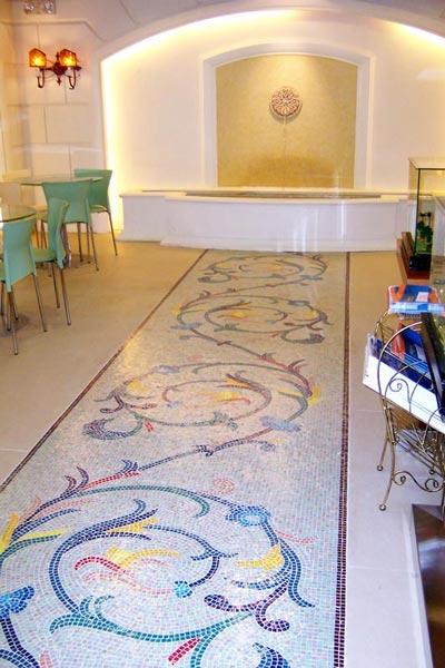 Glass Mosaic Pattern (Стекло мозаичная картина)